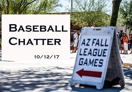 Arizona Fall League Chatter